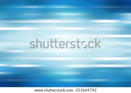 abstract blue background. horizontal lines and strips - stock photo