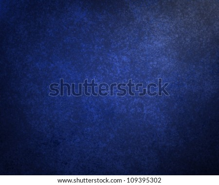 abstract blue background illustration design with elegant dark blue vintage grunge texture and black vignette frame on border with empty blank copy space for ad web brochure template