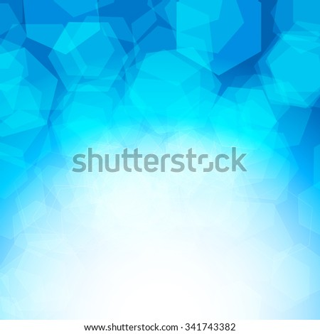 abstract blue background. JPG version - stock photo