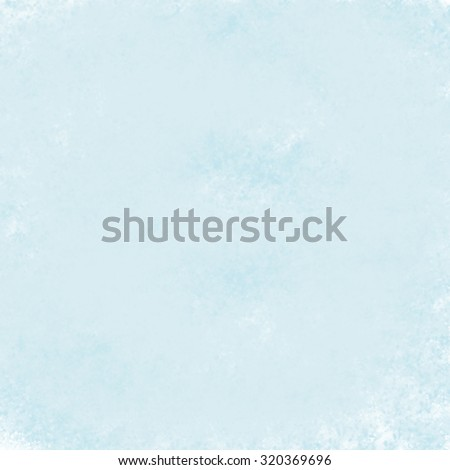 abstract blue background of bright vintage grunge background texture design of robin egg blue color for spring, bright blue paper scrapbook layout or baby boy birth announcement or birthday card - stock photo