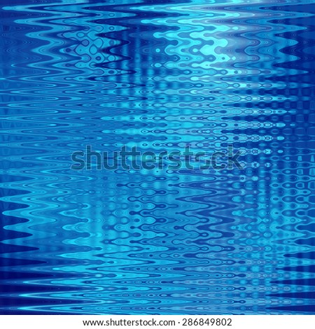 abstract blue background of luminescent lines   - stock photo