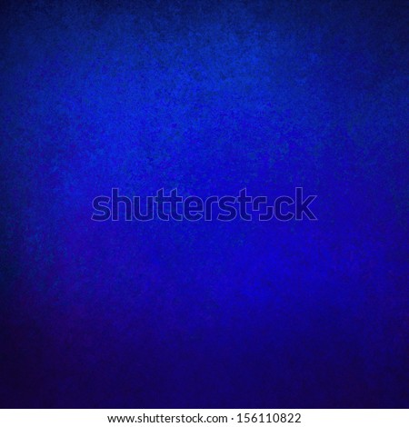 abstract blue background solid color vintage grunge background texture, distressed rough border detail, sapphire blue background, light elegant center for web background idea or brochure color swatch - stock photo