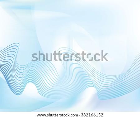 abstract blue background wawe layout design jpeg version - stock photo
