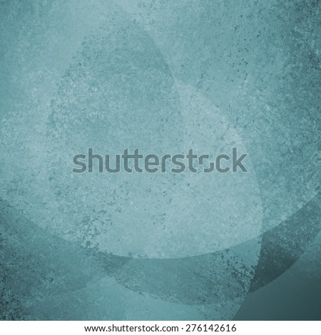 abstract blue background with large floating bokeh lights or bubbles
