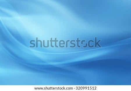 abstract blue background with smooth lines