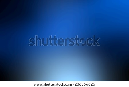 abstract blue blurred background, smooth gradient texture color, shiny bright website pattern, banner header or sidebar graphic art image - stock photo