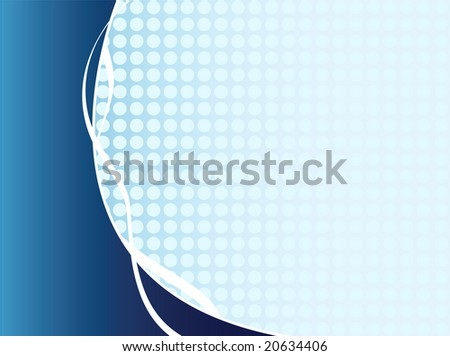 abstract blue business background - vector version available in portfolio