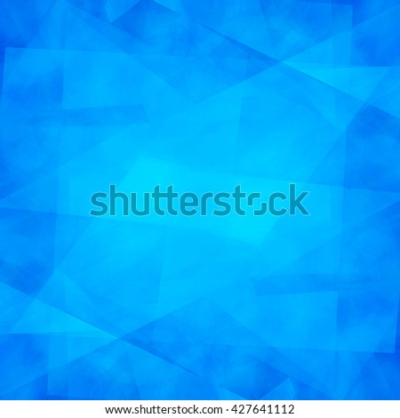 Abstract blue geometric  background for  design