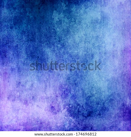 Abstract blue grunge texture for background - stock photo