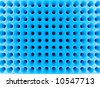 Abstract blue high-tech mesh structure. 3d rendered image. - stock photo