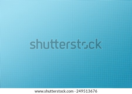 abstract blue led screen texture background - stock photo