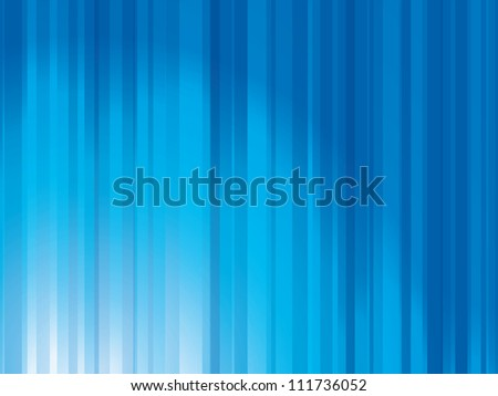 Abstract blue lights background template - stock photo