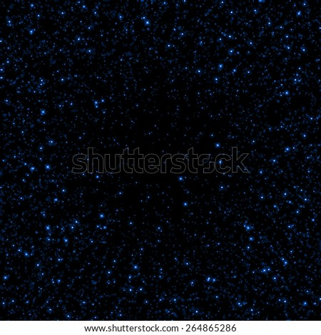 Abstract blue sparkle glitter background. - stock photo