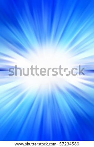 Abstract blue tone streaked background
