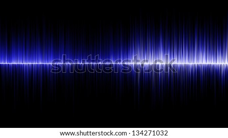 Abstract blue wave colours background