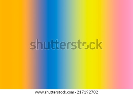Abstract blur background in rainbow colors