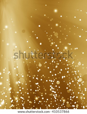 Abstract blur background light gold, soft and elegance..Christmas abstract bokeh. - stock photo