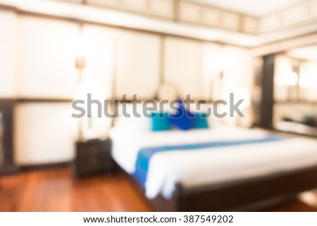 bedroom interior equipped abstract - photo #35