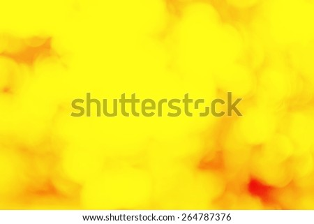 Abstract blur BOKEH  background, soft focus, greeting holiday card, festive frame, magic lights, shiny wallpaper, yellow summer poster - stock photo