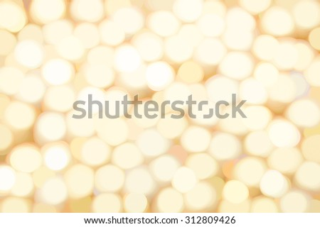Abstract blur gold pearls background - stock photo