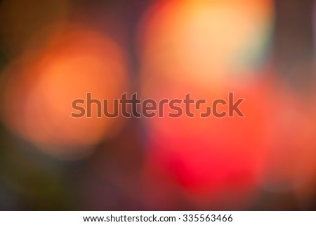 Abstract Blur night bokeh for background - stock photo