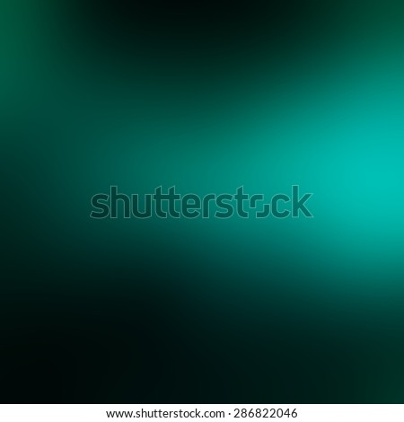 abstract blurred background blue green color splash on black, cool classy background design with copyspace for typography text or images, elegant dark backdrop image - stock photo