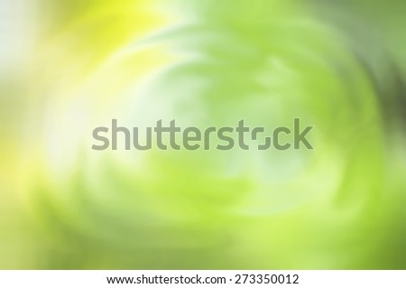 Abstract blurred background of flower and leaves reflection on rippled water