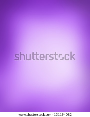 abstract blurred background, smooth gradient texture color mix, shiny purple background banner header or sidebar graphic art image, elegant rich surface, white purple background center spot design - stock photo