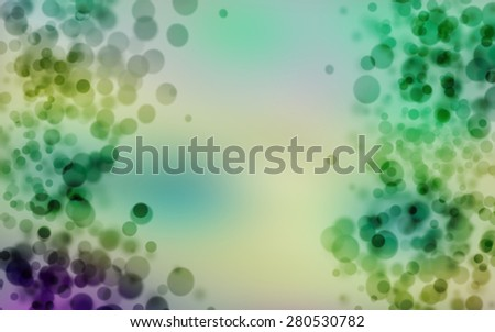abstract blurred background, smooth gradient texture color with wonderful twinkling bokeh - stock photo