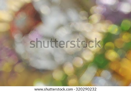 Abstract blurred  bright colored stains boke background - stock photo