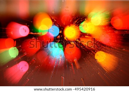 Abstract blurred color lights backgrounds.