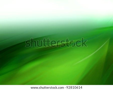 abstract blurred green background with different shades of color - stock photo