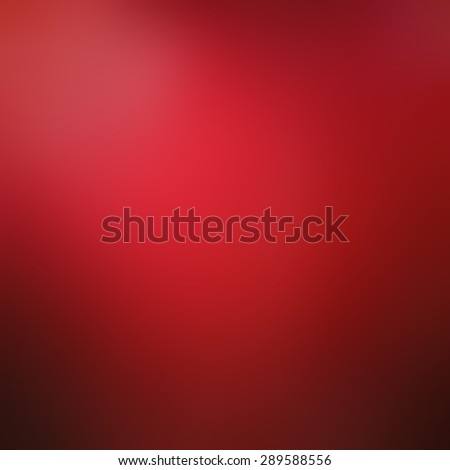 abstract blurred red background with black shadows and corner spotlight, elegant rich red background - stock photo