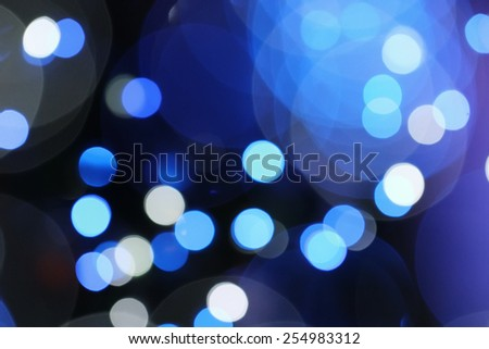 Abstract blurry bokeh background - stock photo