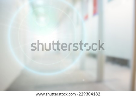 Abstract blurry office background - stock photo