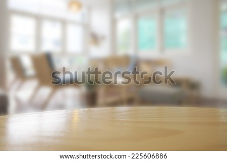 Abstract blurry restaurant - stock photo