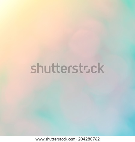 abstract  bokeh and multicolor  background - stock photo
