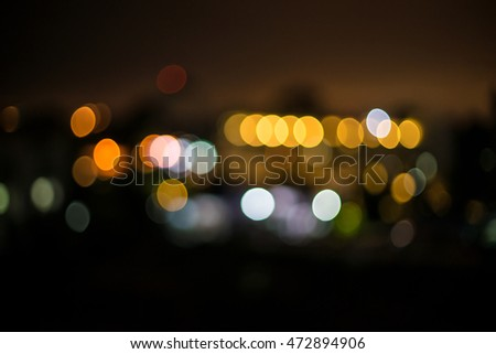 Abstract bokeh background, beautiful
