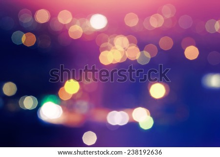 Abstract bokeh background.Soft defocused lights - stock photo