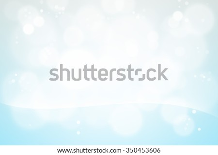 Abstract bokeh blue light blur design for background - stock photo