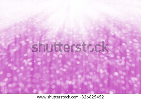 abstract bokeh on pink background. - stock photo