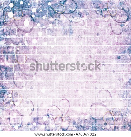 Abstract brick wall background for your design or ads