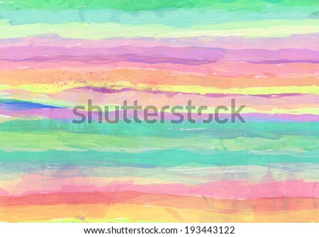 Abstract bright and colorful watercolor background  - stock photo