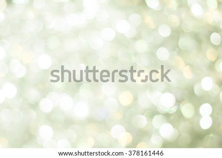 abstract bright blur green bronze glittering shine bulbs lights background:blurred of Christmas day wallpaper decoration concept.xmas design festival backdrop:sparkle circle celebration display - stock photo