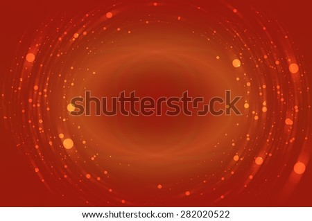 Abstract bright glitter orange background