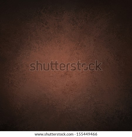 abstract brown background dark color, luxury background texture leathery design with white spotlight center for text country western cowboy background, black border vintage grunge background texture  - stock photo