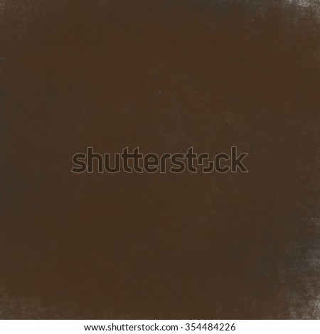 abstract brown background or brown paper with warm center spotlight and black vignette border frame of vintage grunge background texture layout design of dark sepia graphic art paint wallpaper for web - stock photo