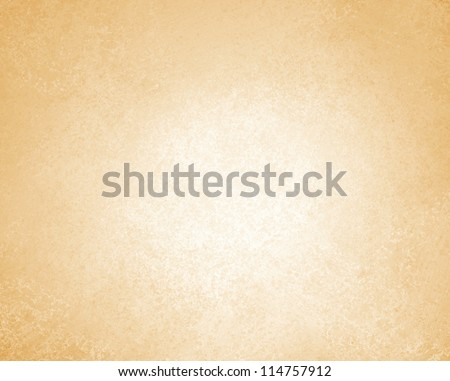 abstract brown background or cream background of vintage grunge background texture parchment paper, light brown paper or canvas linen texture for web template background, tan or beige warm earth tones - stock photo