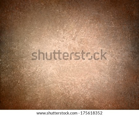 abstract brown background tan color, elegant warm background of vintage grunge background texture white center, brown paper bag style or old parchment for brochure, brown vector background, burnt edge - stock photo