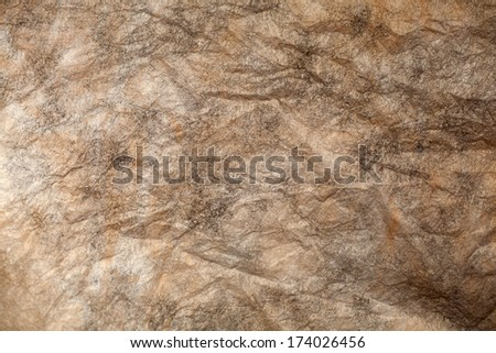 Abstract Brown Canvas Background - stock photo